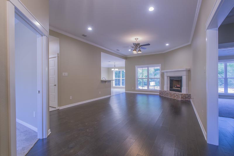 Beautiful Spec home with wood flooring in The Cascades.